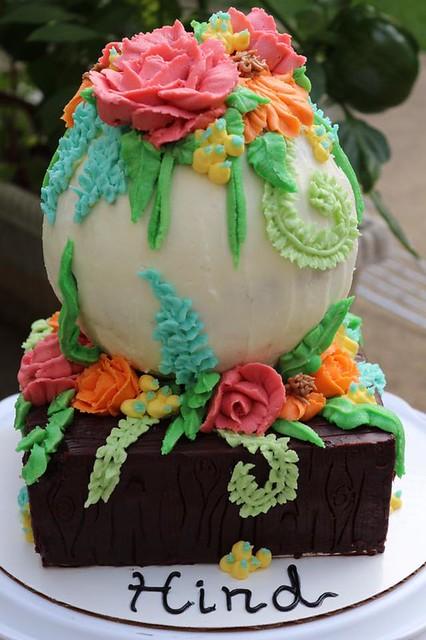 Garden Cake by Safaa Bokhari