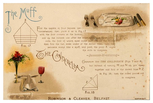 007-Serviettes and how to fold them-1890-Robinson and Cleaver- The Metropolitan Museum of Art