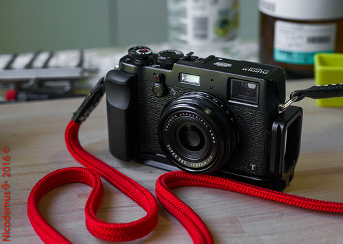 Fujifilm X100T - All Blacks