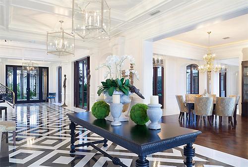 luxury hallway interiors
