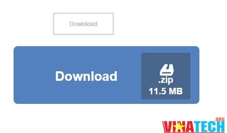 Tạo nút download bằng css3