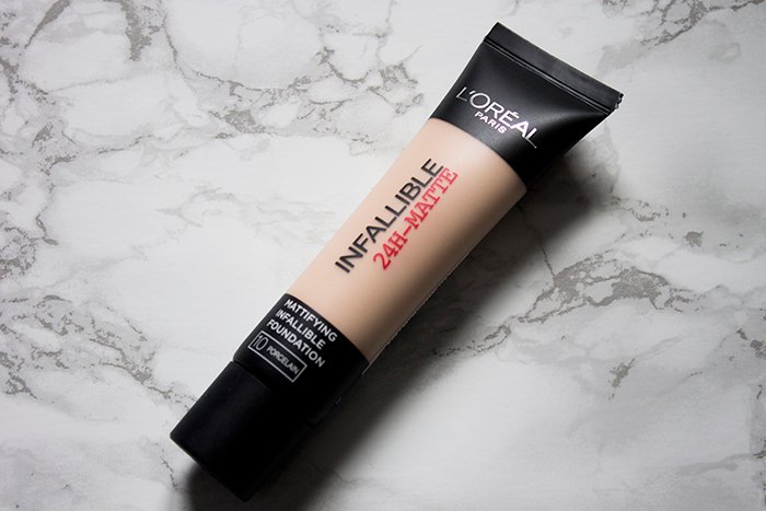 L'Oreal Infallible 24-Hour Matte Foundation