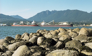 Port of Vancouver from Stanley Park
