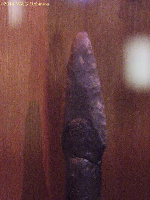 Iceman Flint arrowhead c3200BC