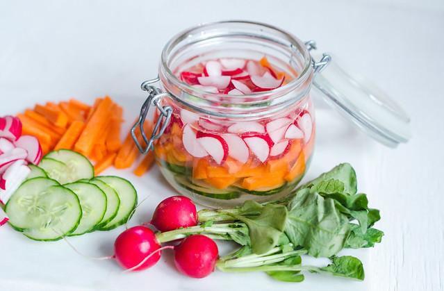 pickladegrönsaker
