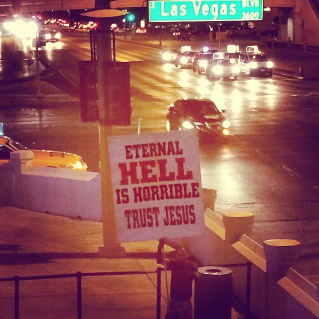 Meanwhile, on an apocalyptic note... #trustjesus #LasVegas #Nevada #humansofvegas #wanderentes #travelingjourno