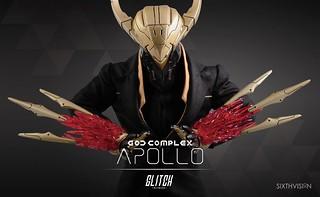 GLITCH_net【太陽神阿波羅】God Complex Apollo 1/6 比例人偶作品