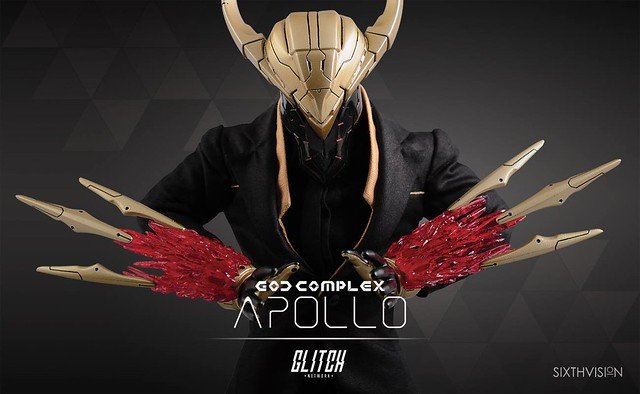 GLITCH_net【太陽神阿波羅】God Complex Apollo 1/6 比例人偶作品