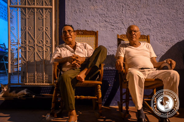 Old Men In Rocking Chairs