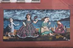Queen's Famine Mural
