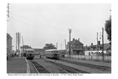 Noyelles. Railcars for Cayeux and Le Crotoy. 17.7.62.