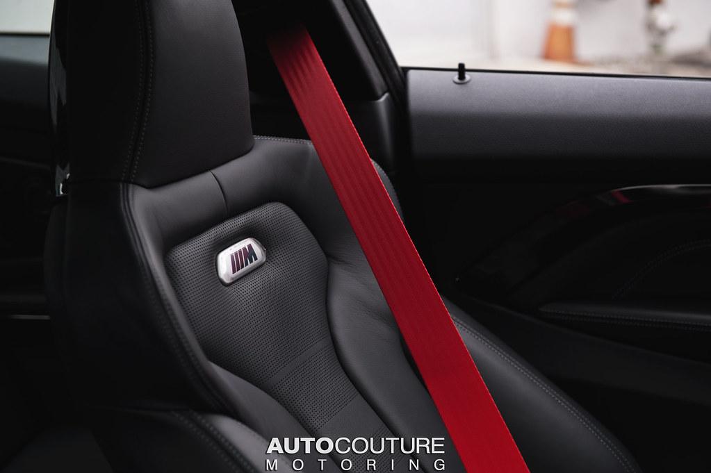 ind f82 m4 colored seat belt set