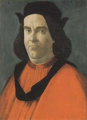 ロレンツォ・デ・ロレンツィの肖像
