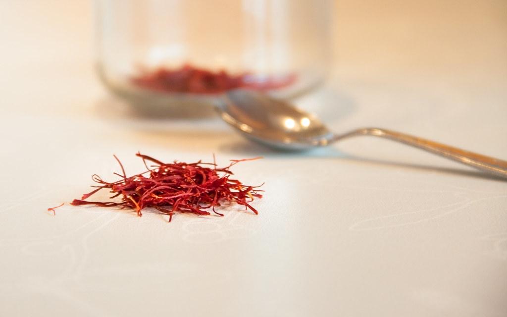 the pinch of saffron