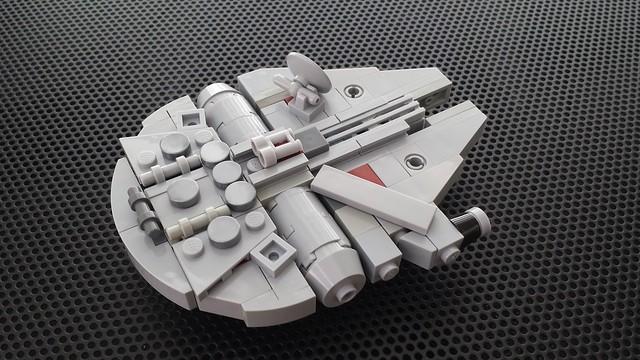 LEGO Mini Meta Millennium Falcon | Flickr - Photo Sharing!