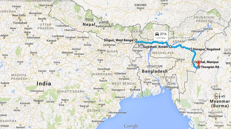 Tragitto india 2