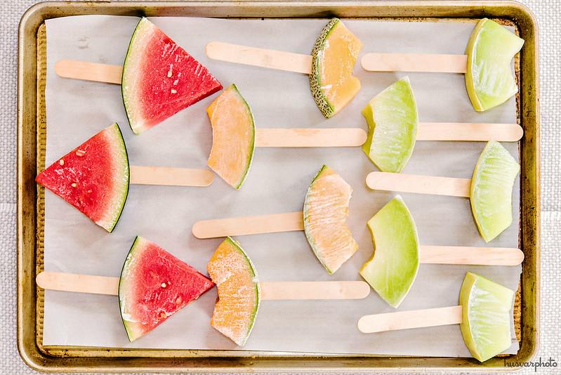 frozen melons on sticks healthy kids snacks #SidelineHero #CollectiveBias