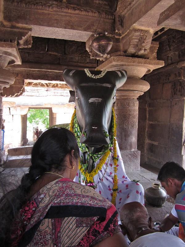 Pattadakal, Nandi bull