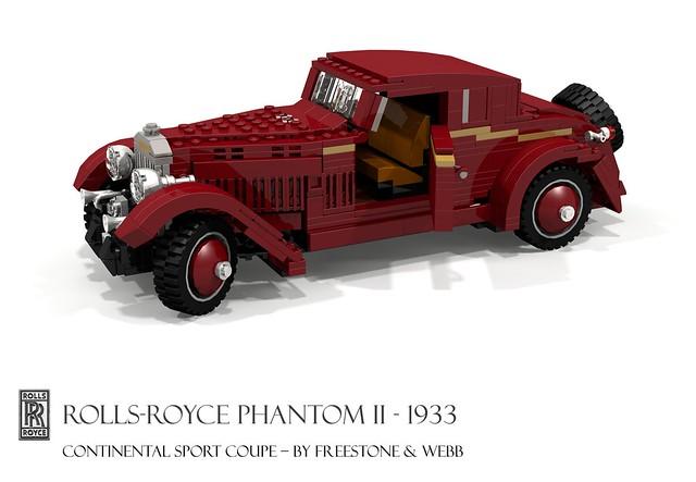 Rolls-Royce Phantom II Continental Sport Coupe (1933 - Freestone & Webb)