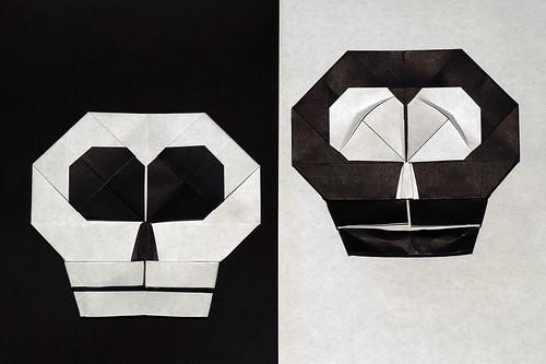 Origami Skull Emblem (Hojyo Takashi)