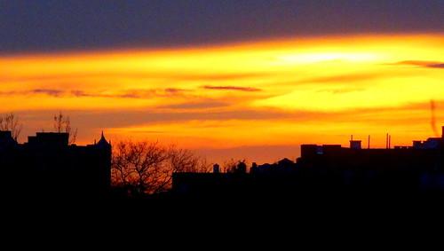sunset newyork brooklyn image dmitriyfomenko fall782014