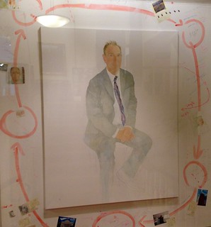 Tim Berners-Lee – portrait at the Royal Society, London