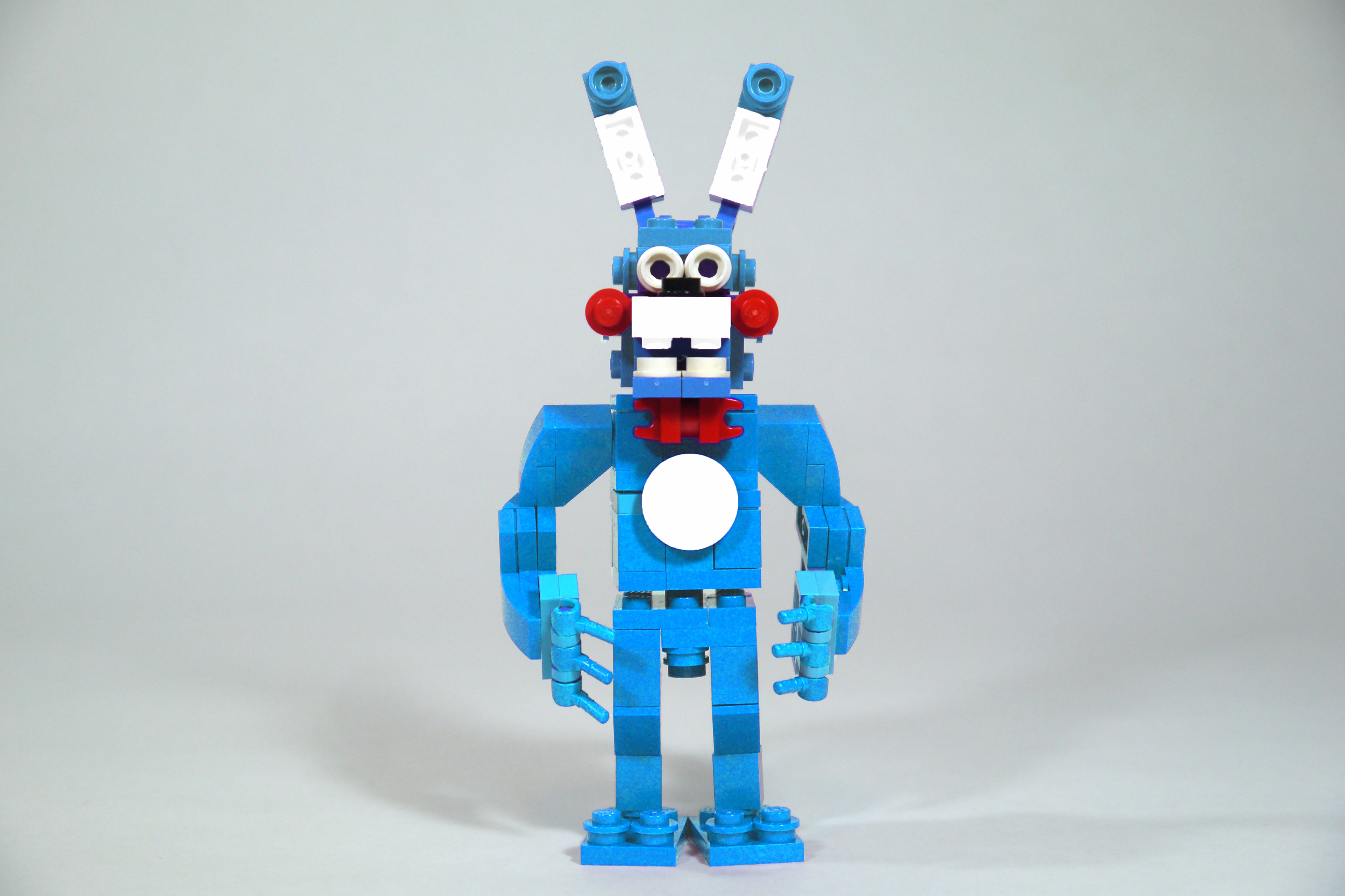 Lego fnaf toy bonnie photoshopped flickr photo sharing