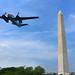 WWII rare flyover of vintage planes celebrating V-E day by die Augen