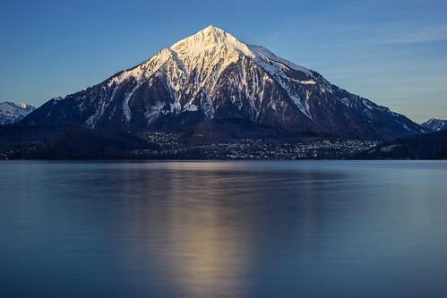 mountain color sunrise landscape 50mm switzerland md minolta f14 sony sonya7