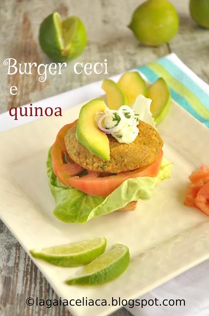 burger ceci e quinoa