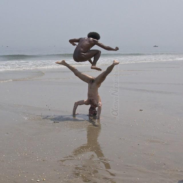 naturist jump