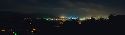 city panorama night clouds zeiss puerto photography lights cityscape sony rico f2 58mm helios biotar 443 caguas a6000