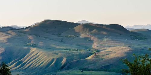 sunset landscape washington unitedstates winthrop hillside motorcycletrip 2015 methowvalley motography motographymay2015