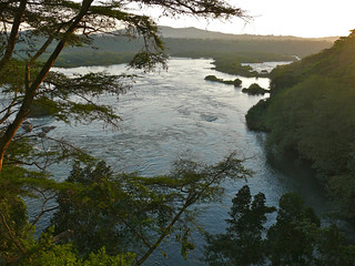 Victoria Nile out of Lake Victoria