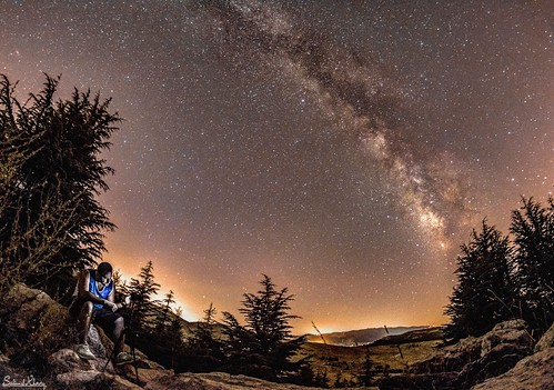 lebanon creativity creative perspective falougha natu nightscape landscape mountains mountain d7200 nikon longexposure longexpo photography nightphotography dark night astrophotography astro milkyway