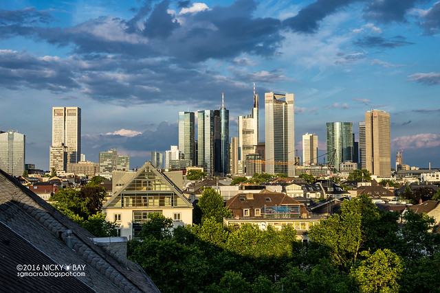Frankfurt City Skyline - DSC05393