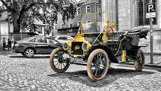 Over 100 years of Ford Automobiles