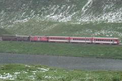 MGB The 'Oberalp Openair Express'.