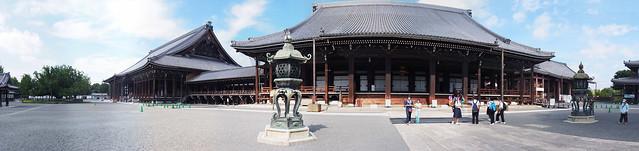 西本願寺-阿彌陀堂與御影堂