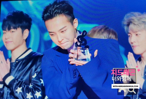 Big Bang - The 5th Gaon Char K-Pop Awards - 17feb2016 - With G-Dragon - 14