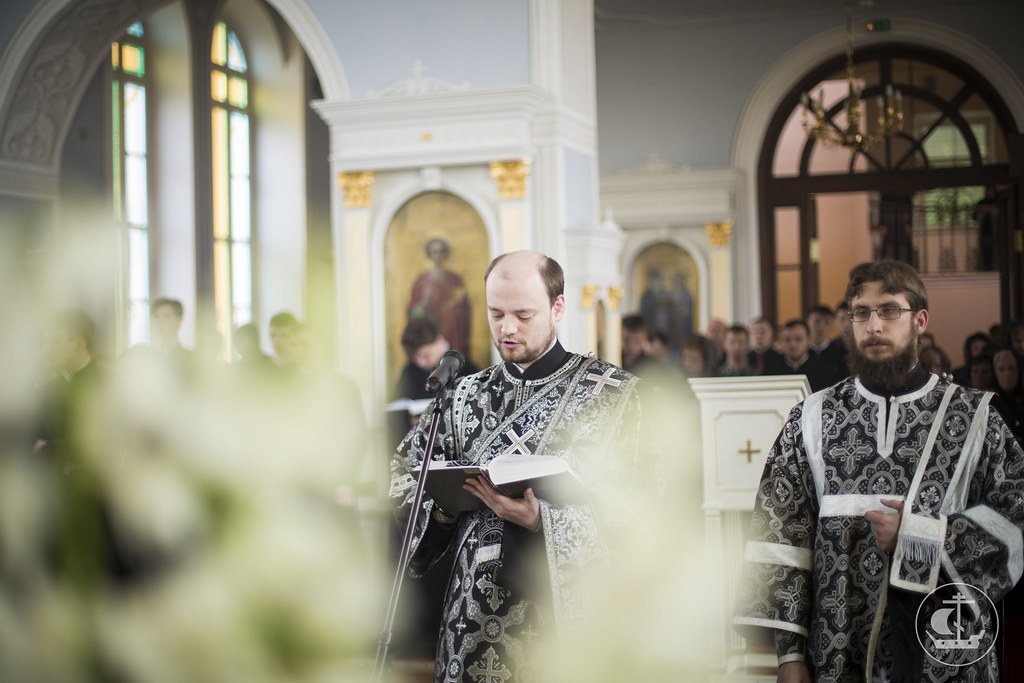 10 апреля 2015, Вынос Плащаницы / 10 April 2015, Vespers of the Taking-Down from the Cross