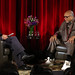 LMU School of Film & Television posted a photo:	Quincy Jones talks about his collaboration with Michael Jackson on The Wiz and Thriller. Photo by Juan Tallo