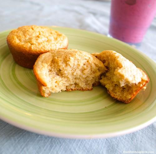Gluten Free Banana Yogurt Muffins