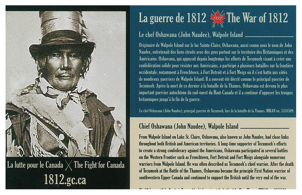 War of 1812 - Oshawana
