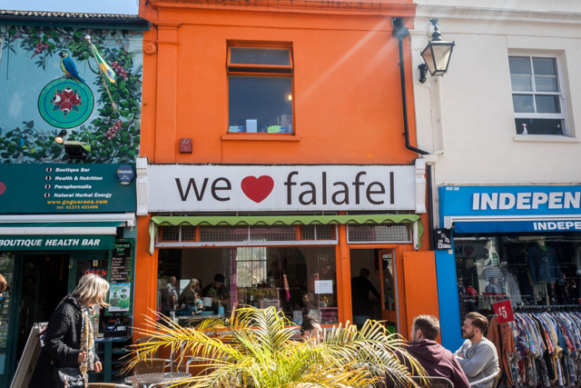 We Love Falafel, Brighton.