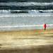 La dame en rouge by JEAN PAUL TALIMI