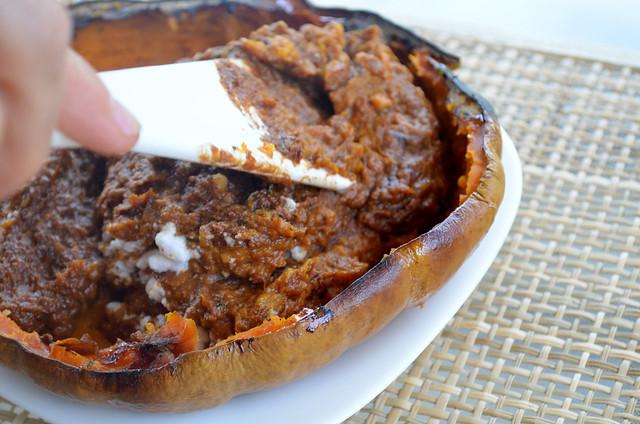 receta de mousse de calabaza y cacao paleo