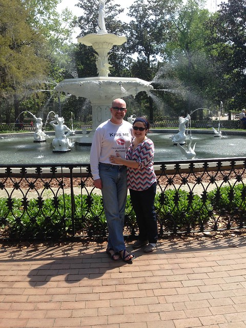 At Forsyth Fountain
