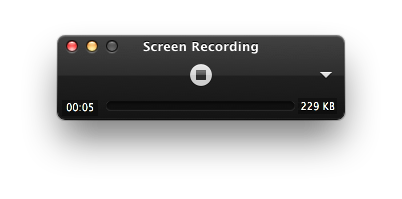 Quicktime Stop Screen Recording