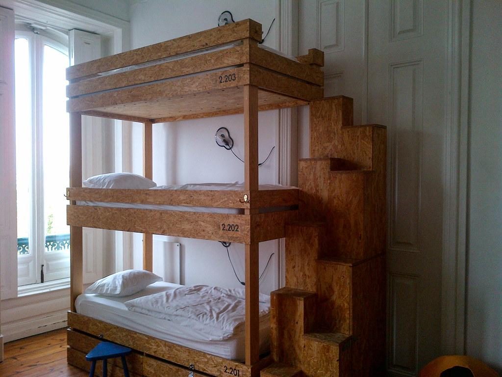 Hostel beds: The Indepentente, Lisbon